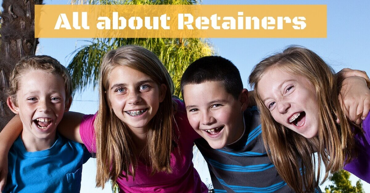 Fox Kids Dentistry and Orthodontics - All about Retainers