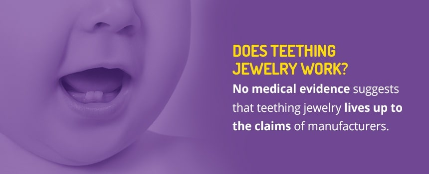 Does Teething Jewelry Work?