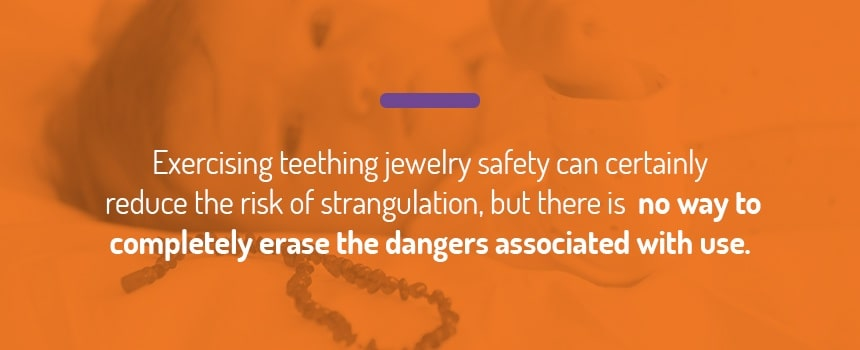 Potential Risks With Teething Jewelry: Strangulation
